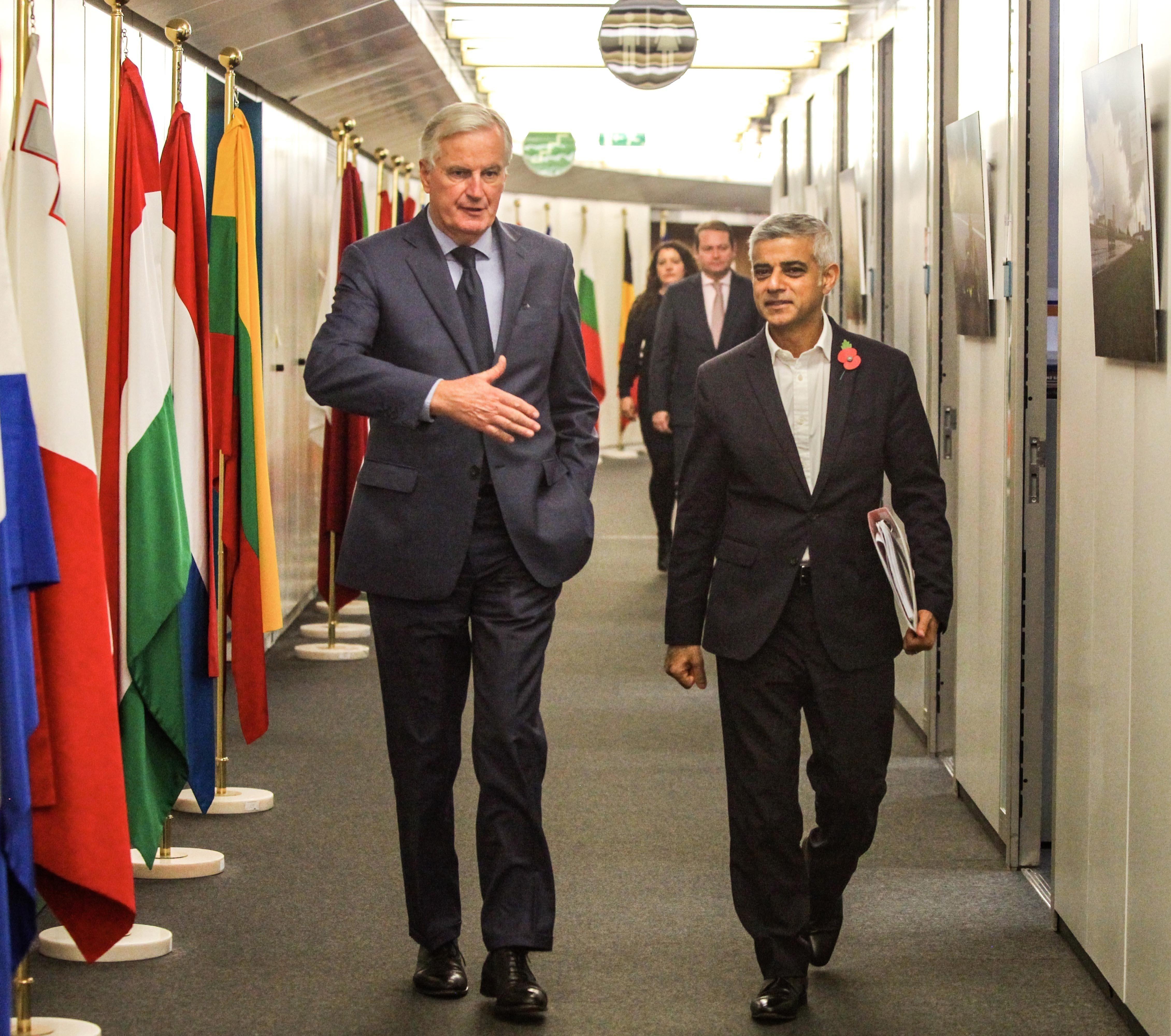 EU 'Willing To Listen' On Extending Brexit Deal Deadline, Says Sadiq