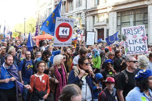 700,000 people were thought to have attended the People's Vote march on