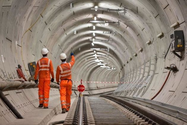 The Crossrail project was delayed by nine months over the