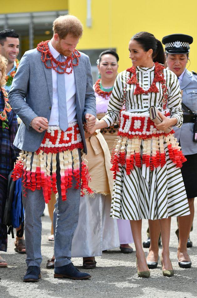 Χάρι και Μέγκαν στην Αυστραλία: Το φόρεμα των 1.600 δολαρίων και τα απρόοπτα εν ώρα