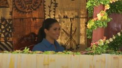 The Duke And Duchess of Sussex Are All Giggles During Tonga