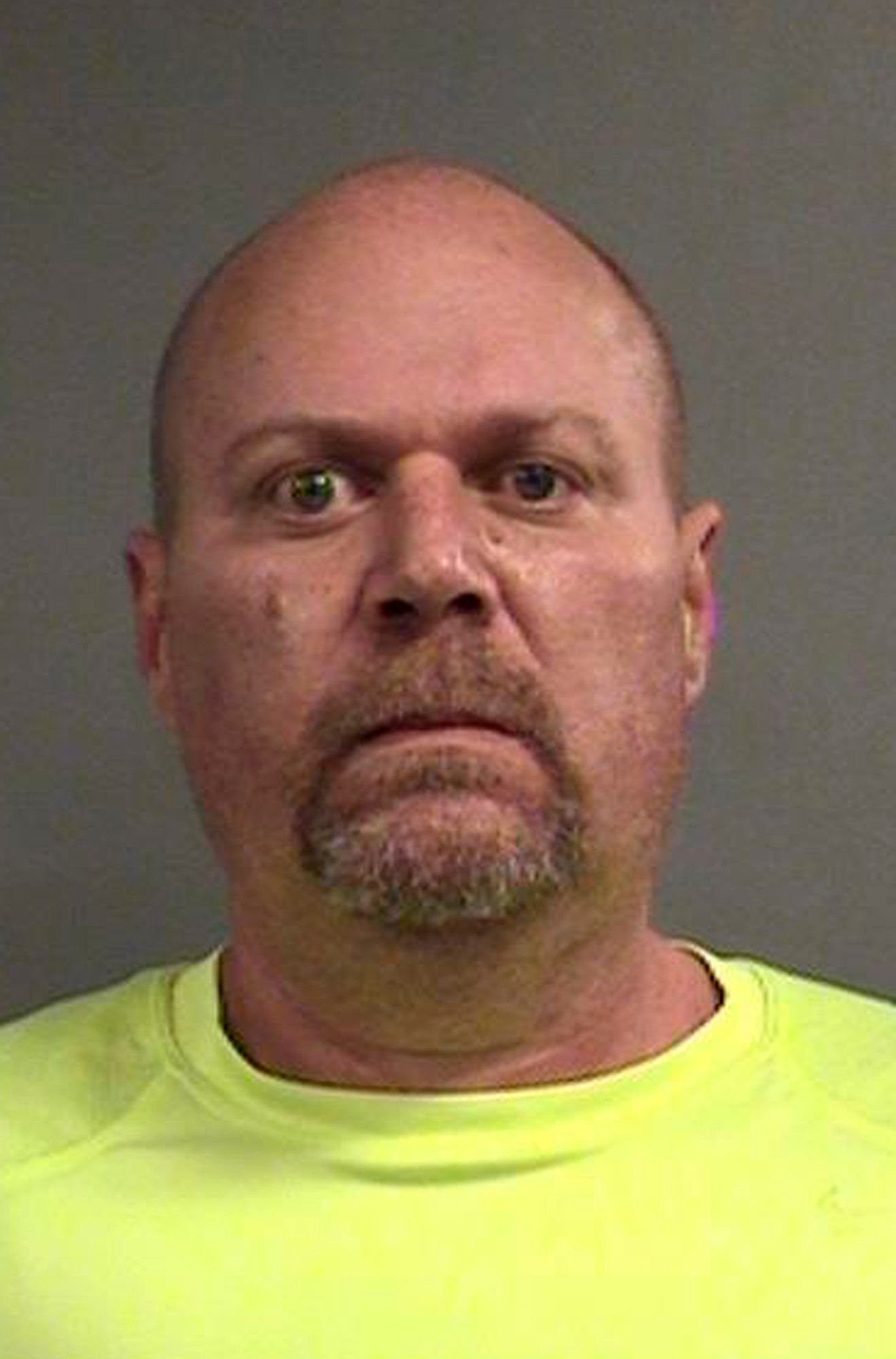 Gregory Alan Bush is pictured in a photo provided by the Louisville Metro Department of Corrections.