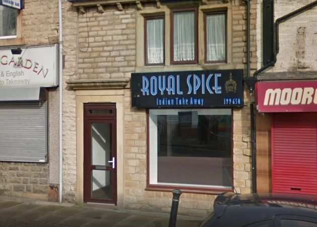 The Royal Spice takeaway has since