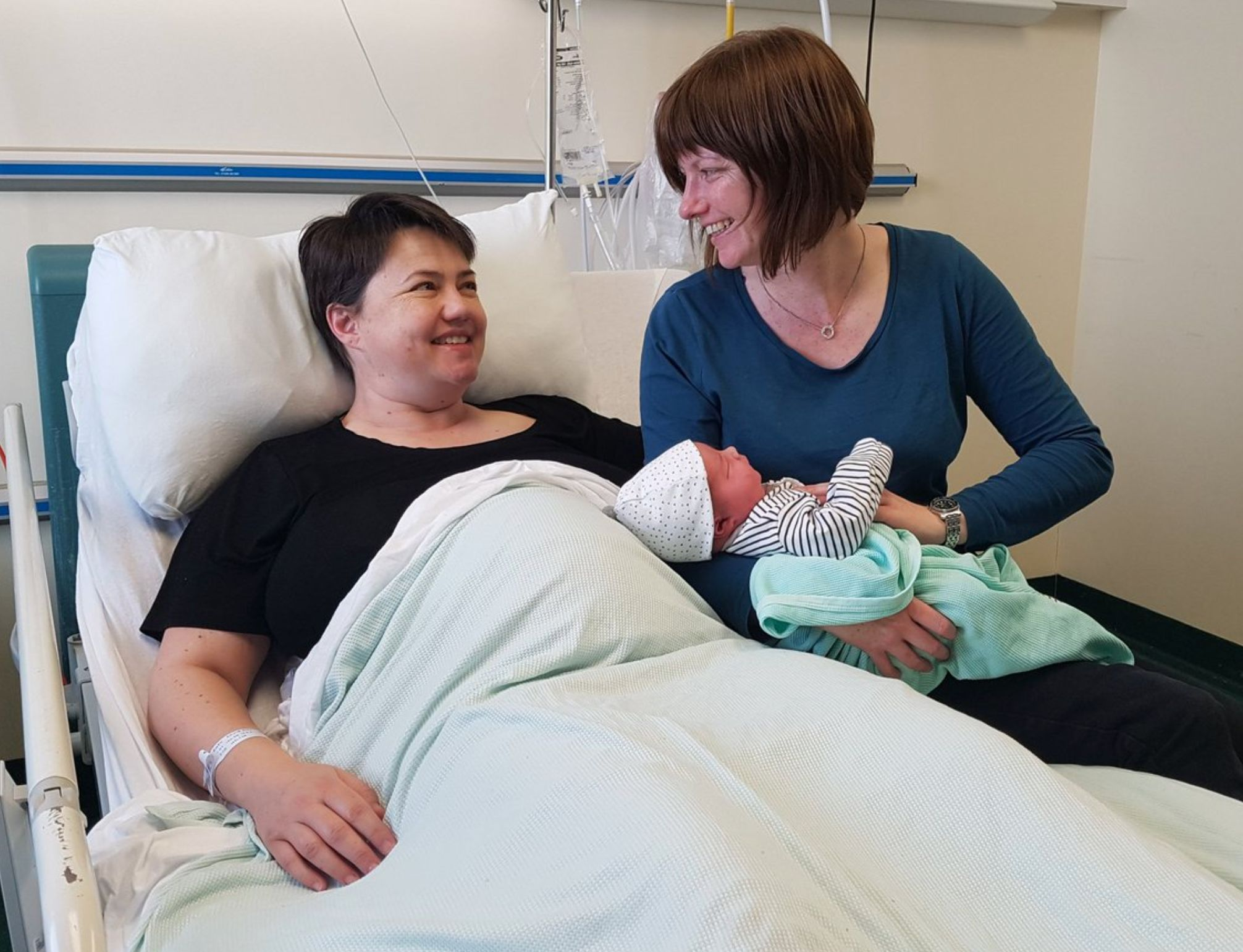 Scottish Tory Leader Ruth Davidson Gives Birth To Baby