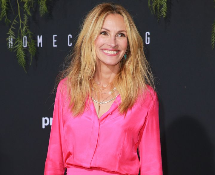 "Julia Roberts attends premiere of her new Amazon series ""Homecoming."""