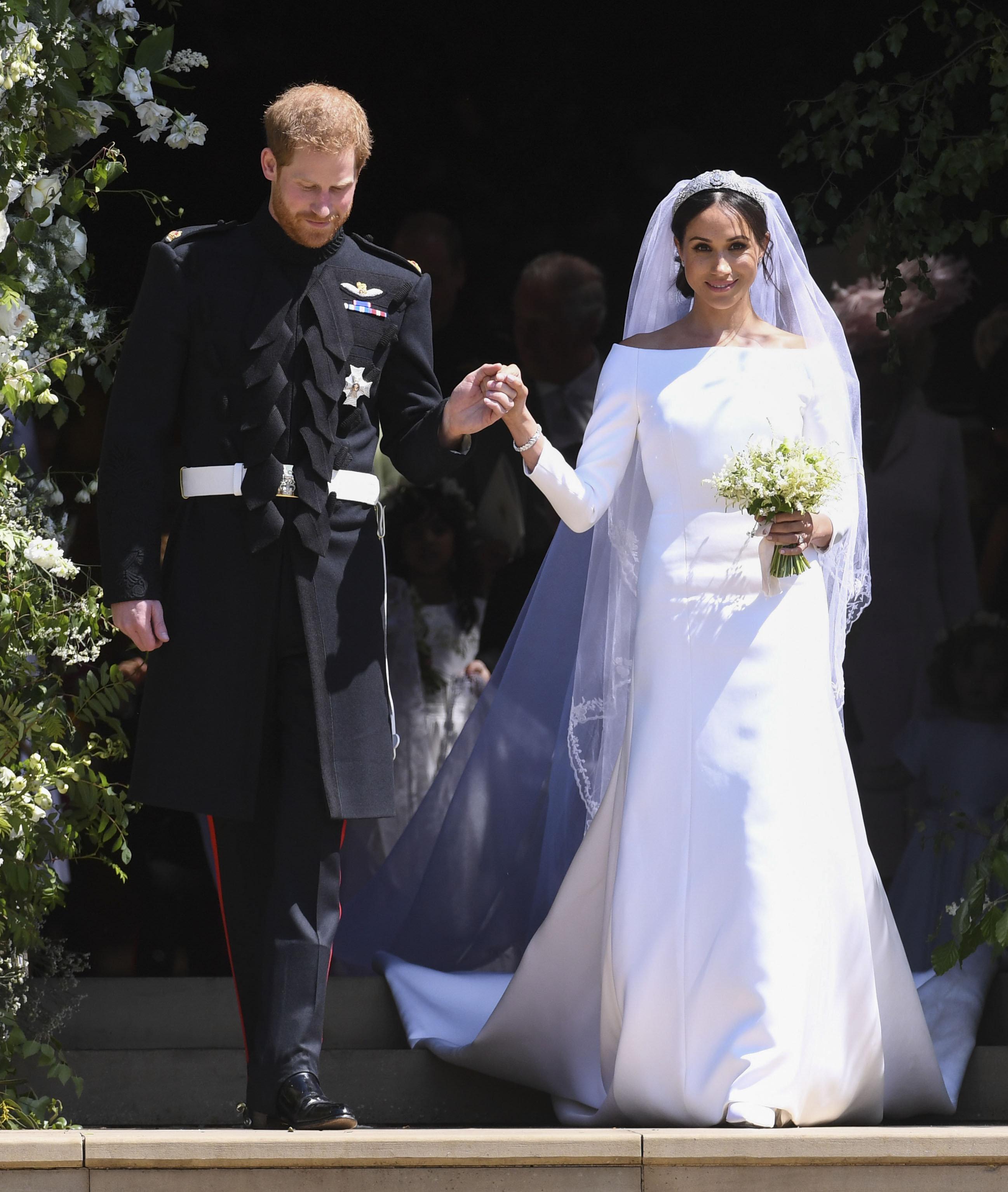 Meghan und Harry verraten: Das ist das Einzige, das bei unserer Hochzeit schief