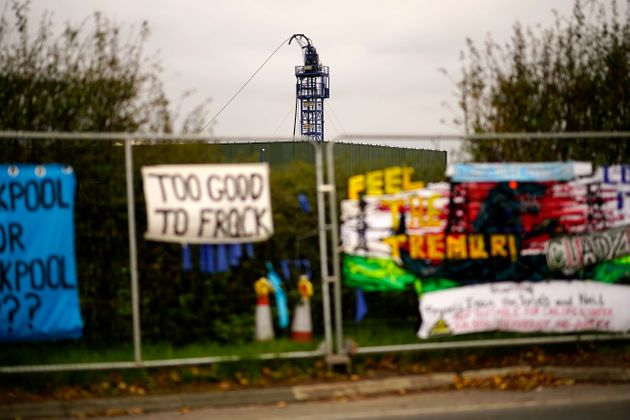 Protest camps remain at the Preston New Road fracking site in