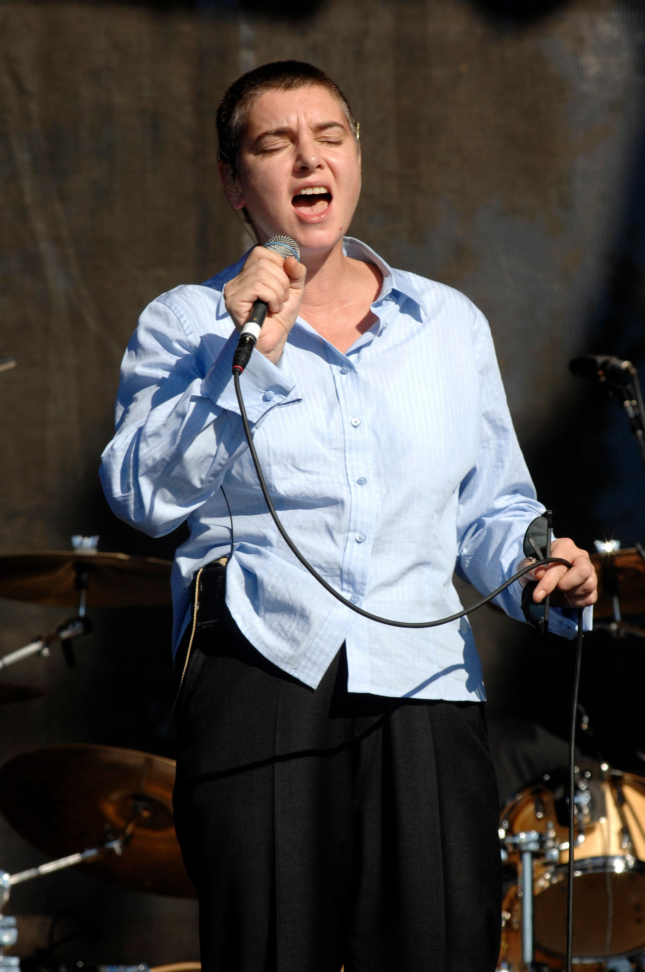Sinead O'Connor performing live at the 2007 Voodoo Music Experience festival in New Orleans, Louisiana on October 27, 2007. © Atlas / MediaPunch/IPX