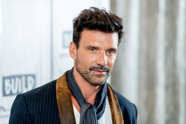 Frank Grillo visits the Build Series studio.