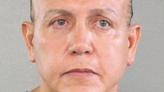 A 2015 mugshot of mail bomb suspect Cesar Sayoc.