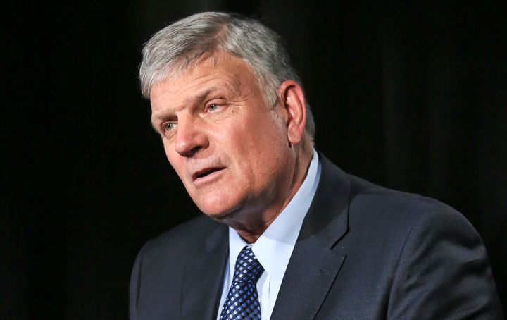 The Rev. Franklin Graham is the son of the late evangelist Billy Graham and CEO of the Billy Graham Evangelistic Association.