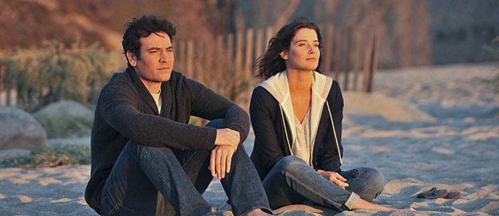 "Ted (Josh Radnor) and Robin (Cobie Smulders) appear in a scene from ""How I Met Your Mother."""