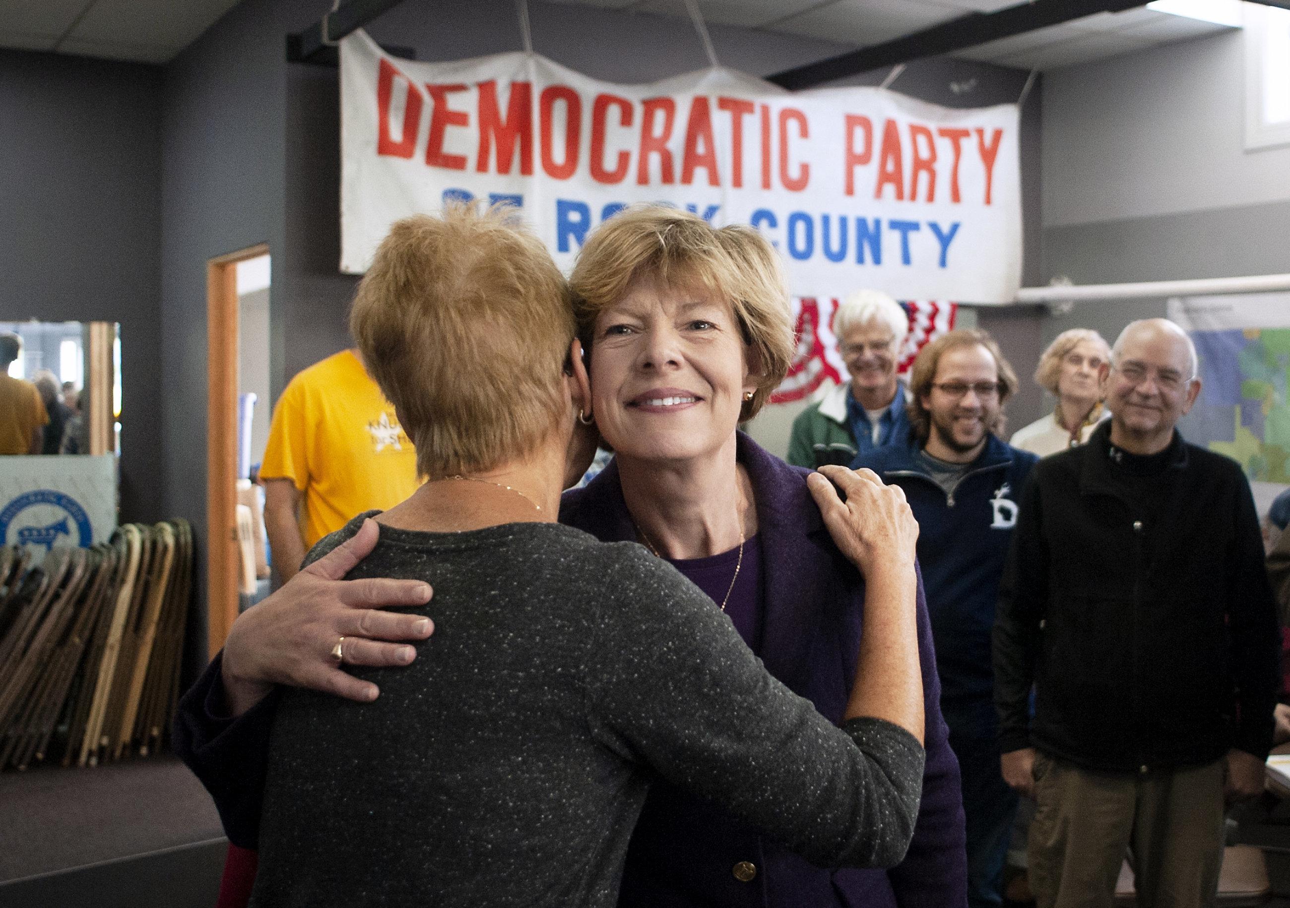 Sen. Tammy Baldwin (D-Wis.) won re-election to a second term.