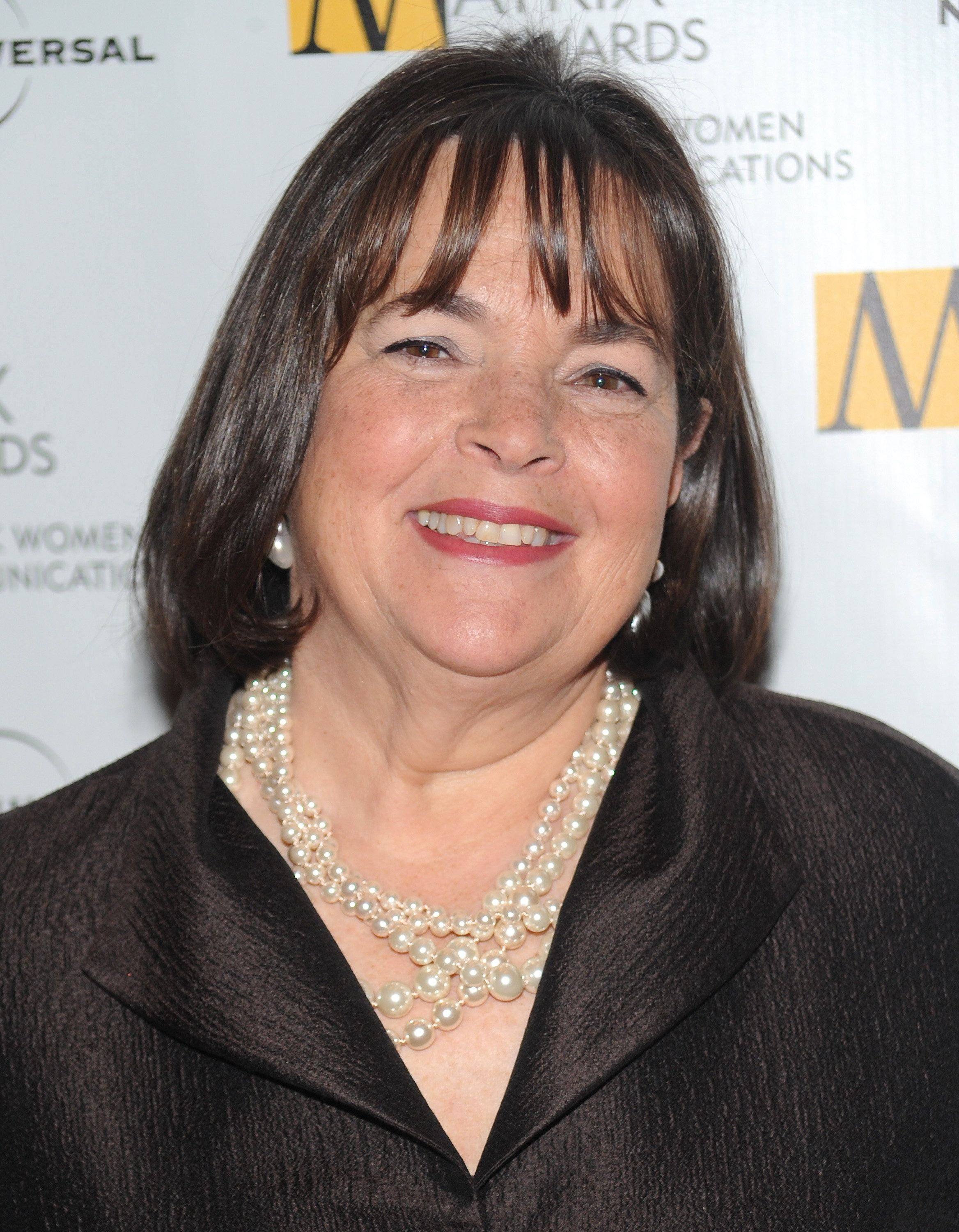 "FILE - In this April 19, 2010, file photo, author and Food Network host Ina Garten attends the 2010 Matrix Awards presented by the New York Women in Communications at the Waldorf-Astoria Hotel in New York. ""Pastitsio is like a Greek lasagna,"" Garten explains in her new cookbook, ""Make It Ahead."" (AP Photo/Evan Agostini, File)"