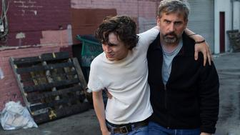 Steve Carell and Timothée Chalamet Talk Addiction in Beautiful Boy