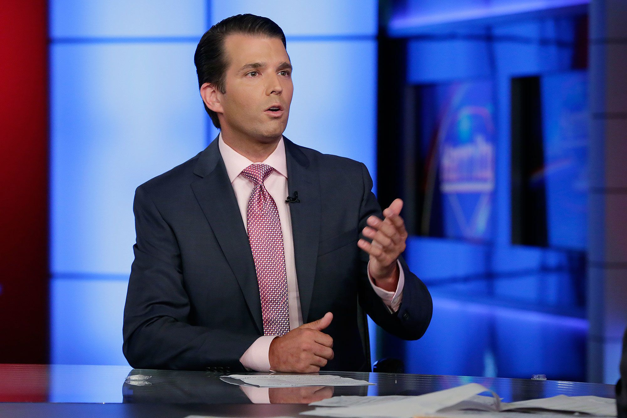 Donald Jr. Likes Tweet Claiming Bombs Sent to Democrats Were Fake