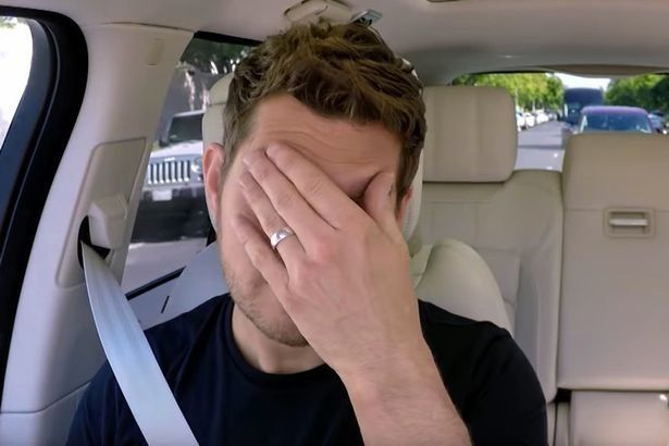Watch Michael Buble Open Up About Son's Cancer Diagnosis On 'Carpool Karaoke'