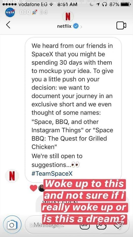 Cette étudiante égyptienne a poussé la NASA et SpaceX à se battre pour l'inviter à un barbecue