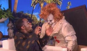 Ellen DeGeneres Scared The Living Daylights Out Of Sean 'Diddy' Combs With A