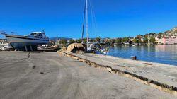 Έντονη η μετασεισμική δραστηριότητα στη Ζάκυνθο. Έλεγχοι στο λιμάνι από το υπουργείο