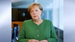 Merkel fordert, noch mehr Flüchtlinge in Arbeit zu bringen