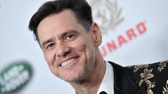 BEVERLY HILLS, CA - OCTOBER 26:  Jim Carrey attends the 2018 British Academy Britannia Awards presented by Jaguar Land Rover and American Airlines at The Beverly Hilton Hotel on October 26, 2018 in Beverly Hills, California.  (Photo by Axelle/Bauer-Griffin/FilmMagic)