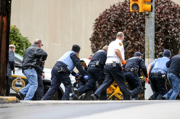 美 피츠버그 유대교 회당 총기 난사 : 최소 11명이