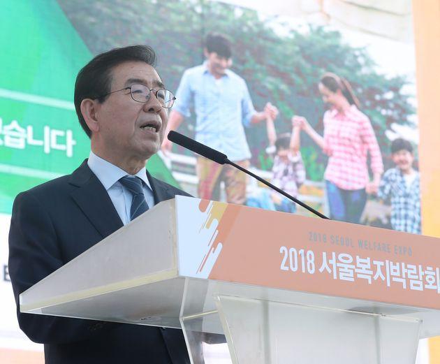 박원순 서울시장이 '완전 무상보육'을