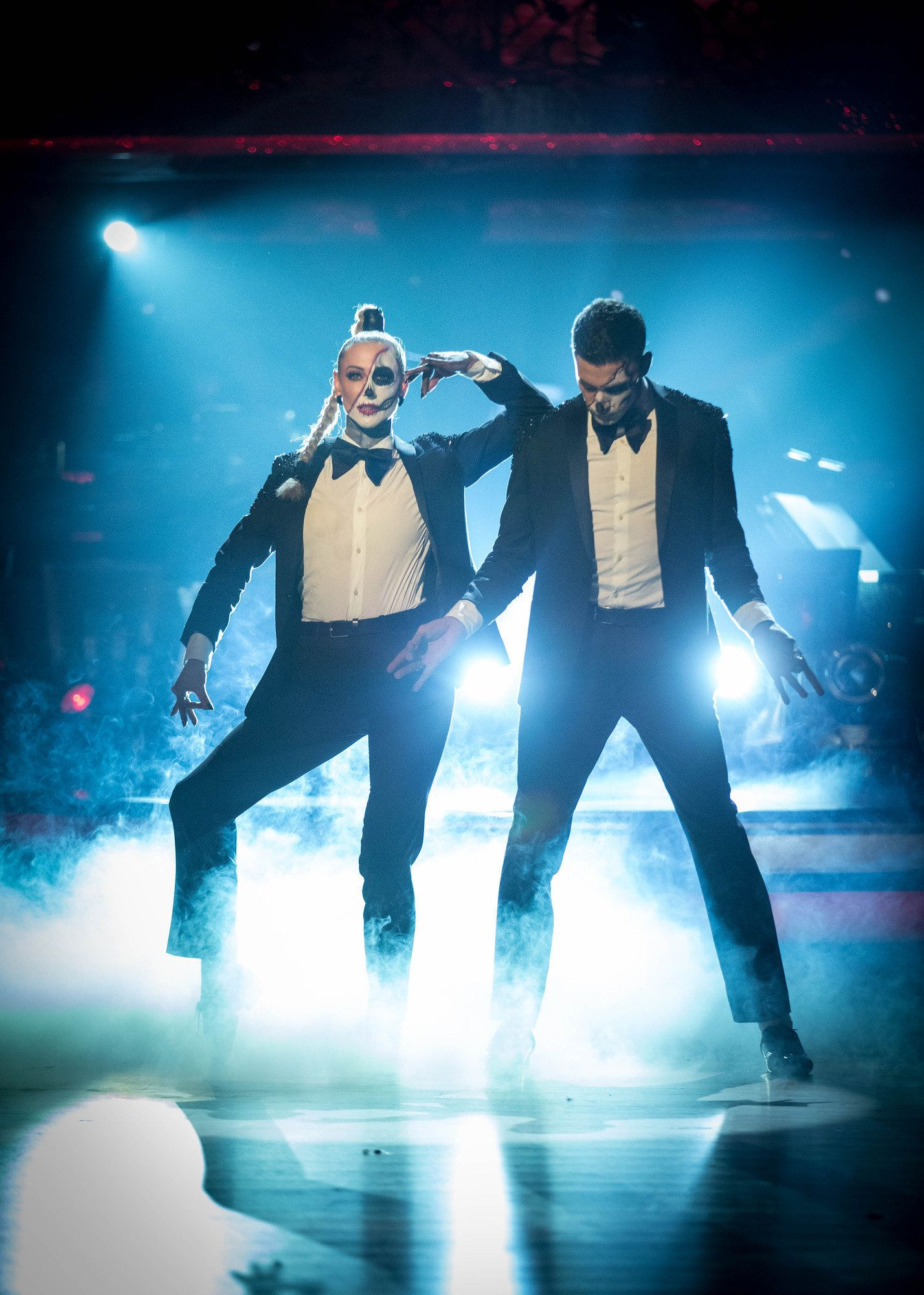 Ashley Roberts And Faye Tozer Top 'Strictly' Leaderboard With Biggest Scores Of Series With Jaw-Dropping Halloween