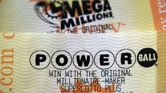 DES MOINES, Iowa (AP) — Lottery officials say two tickets have won the estimated $750 million Powerball jackpot.