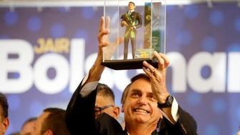 Brazil's Bolsonaro poised to win presidency in dramatic swing right