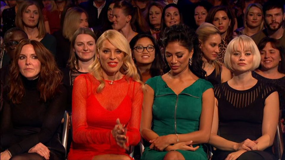 Everyone's Trying To Work Out What Nicole Scherzinger Muttered To Tess Daly In The 'Strictly'