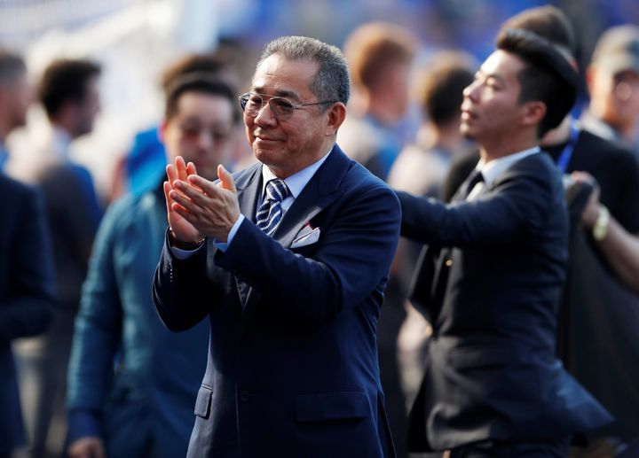 Leicester City chairman Vichai Srivaddhanaprabha pictured in May.
