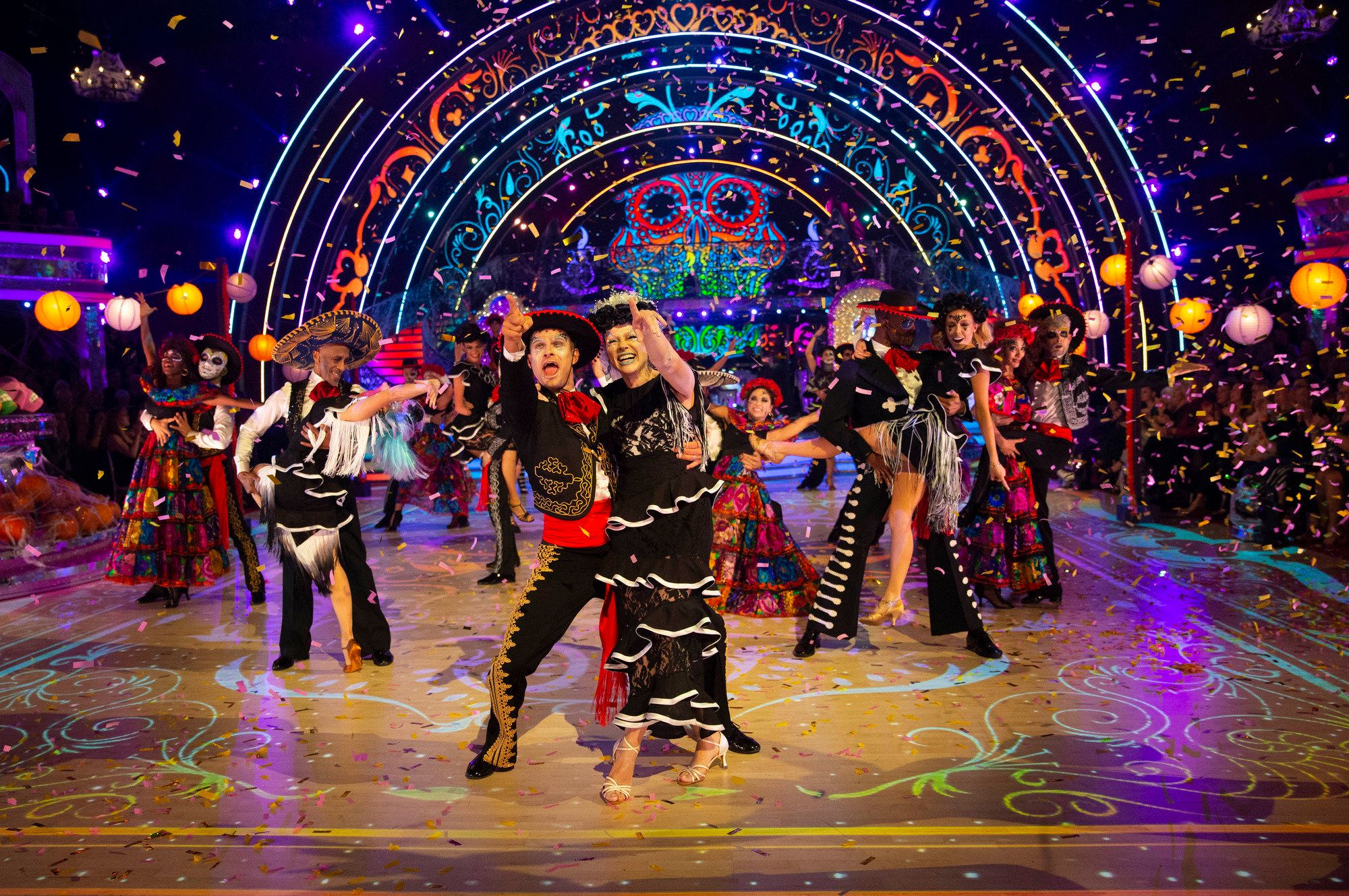 Strictly's Day Of The Dead-Inspired Opening Dance Blasted For 'Cultural