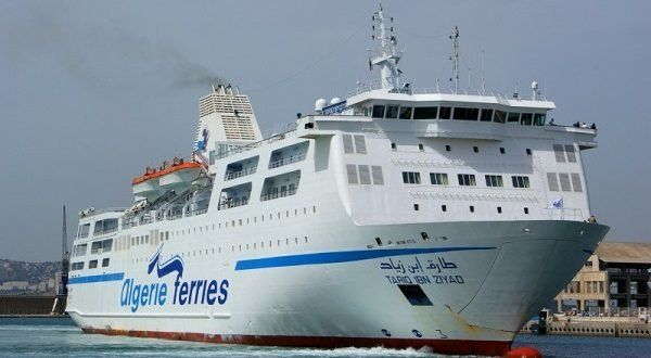 Car-ferry Tariq Ibn Ziyad : report du voyage Alger-Marseille à