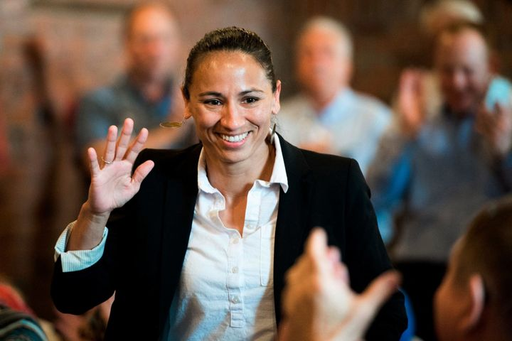 Democrat Sharice Davids