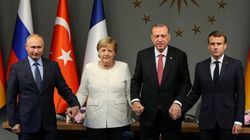 Merkel trifft Erdogan: Foto sorgt für