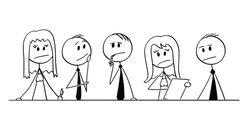 아직도 미국에서는 직장에서 매일같이 터무니없는 모욕을 겪는 성소수자가