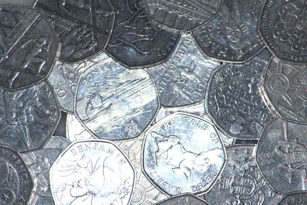 Previous commemorative fifty pence