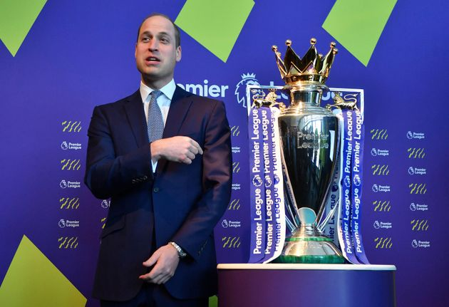 Prince William is the president of the Football