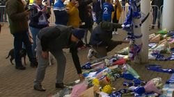 Fans Pay Tribute To Leicester City
