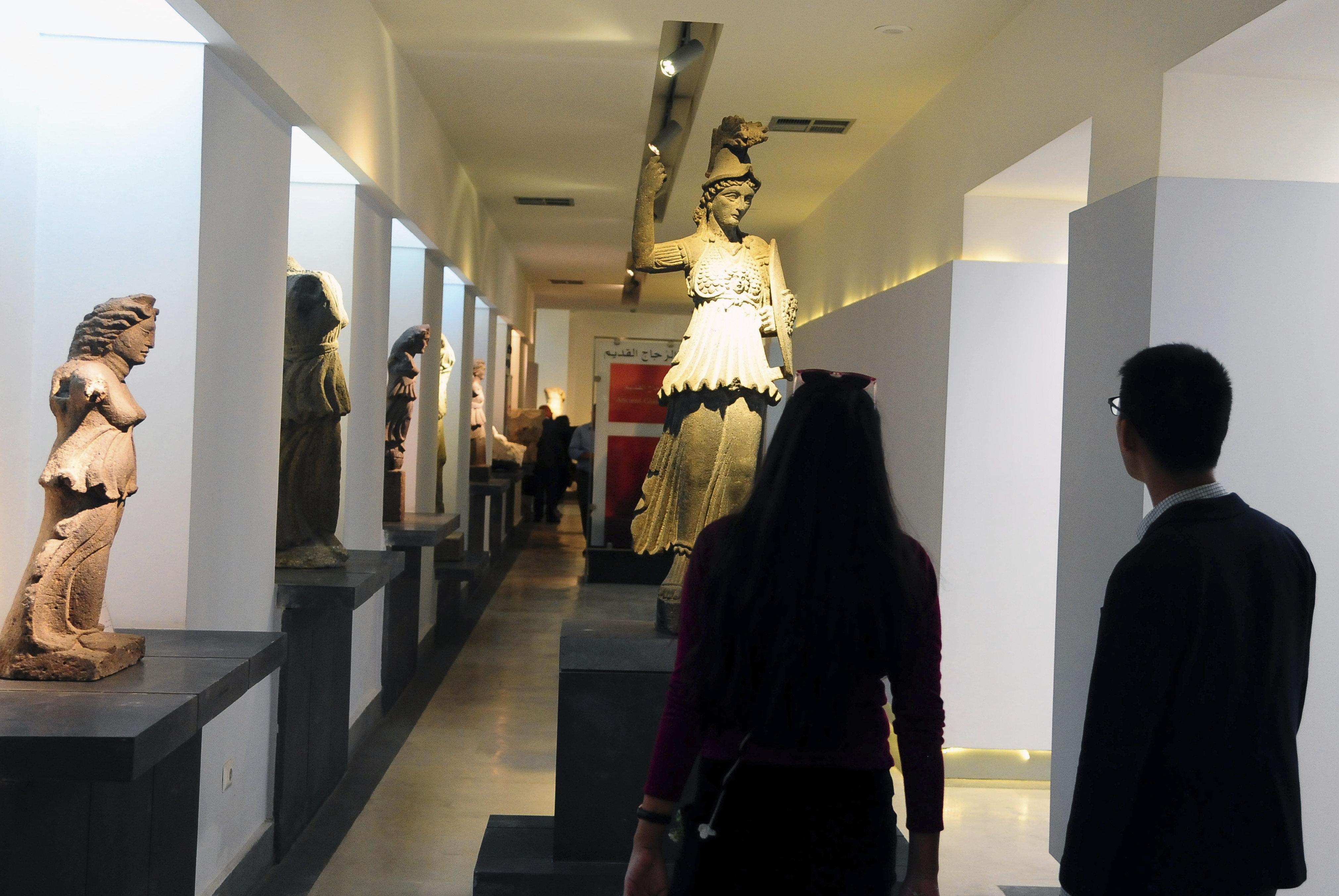 Άνοιξε για πρώτη φορά μετά από επτά χρόνια το Εθνικό Μουσείου της Συρίας με τις μοναδικές αρχαιότητες