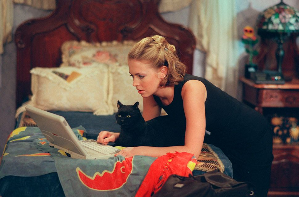 "Melissa Joan Hart as Sabrina Spellman in ""Sabrina the Teenage Witch""."