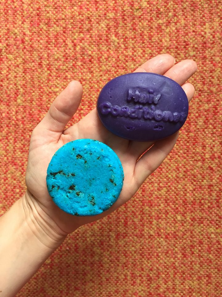 I Tried Lush Shampoo And Conditioner Bars In Place Of Plastic Bottles For A Fortnight Huffpost Uk Life