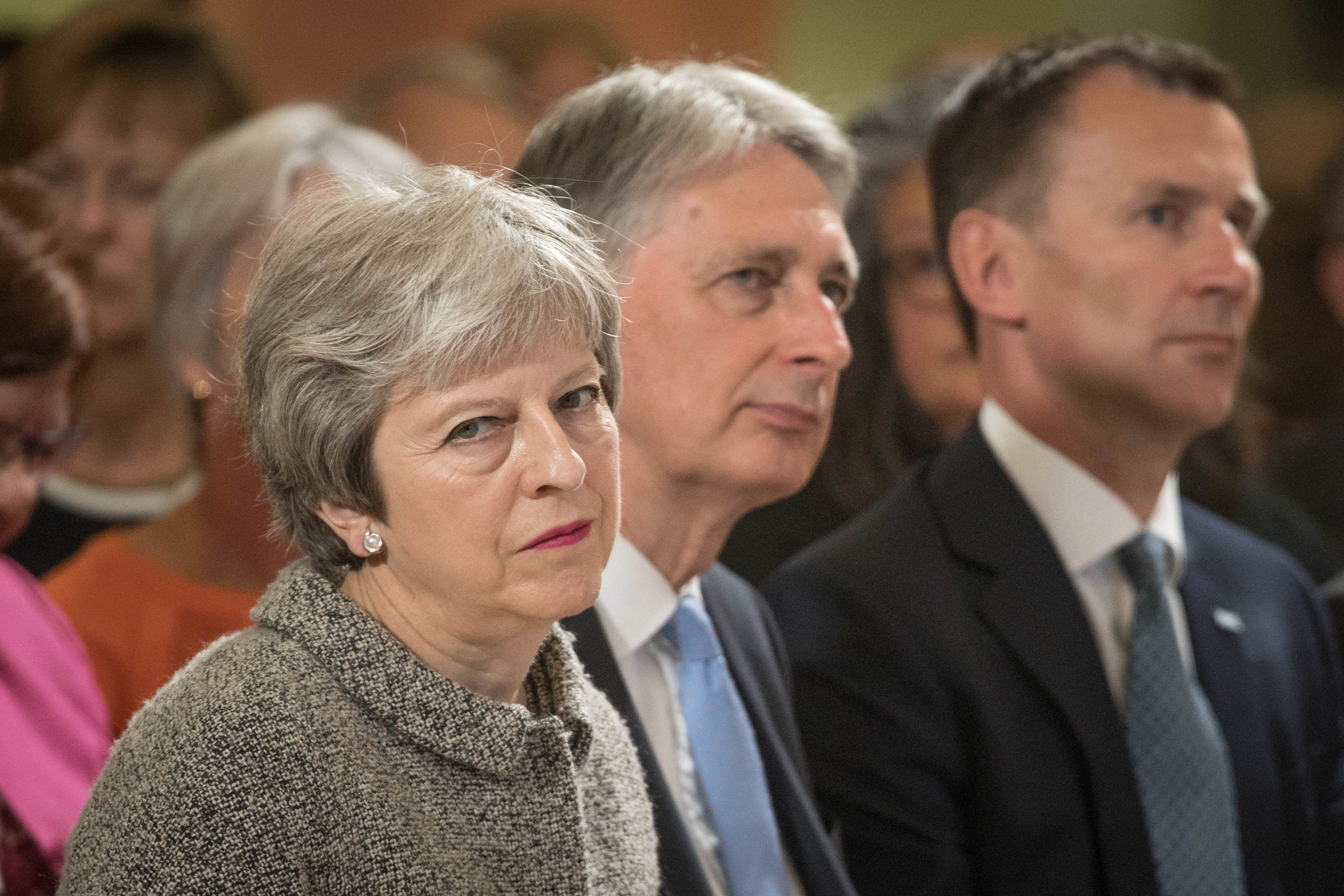 Downing Street Says No-Deal Brexit Won't Cancel Budget Spending Plan - Hours After Philip Hammond Said It