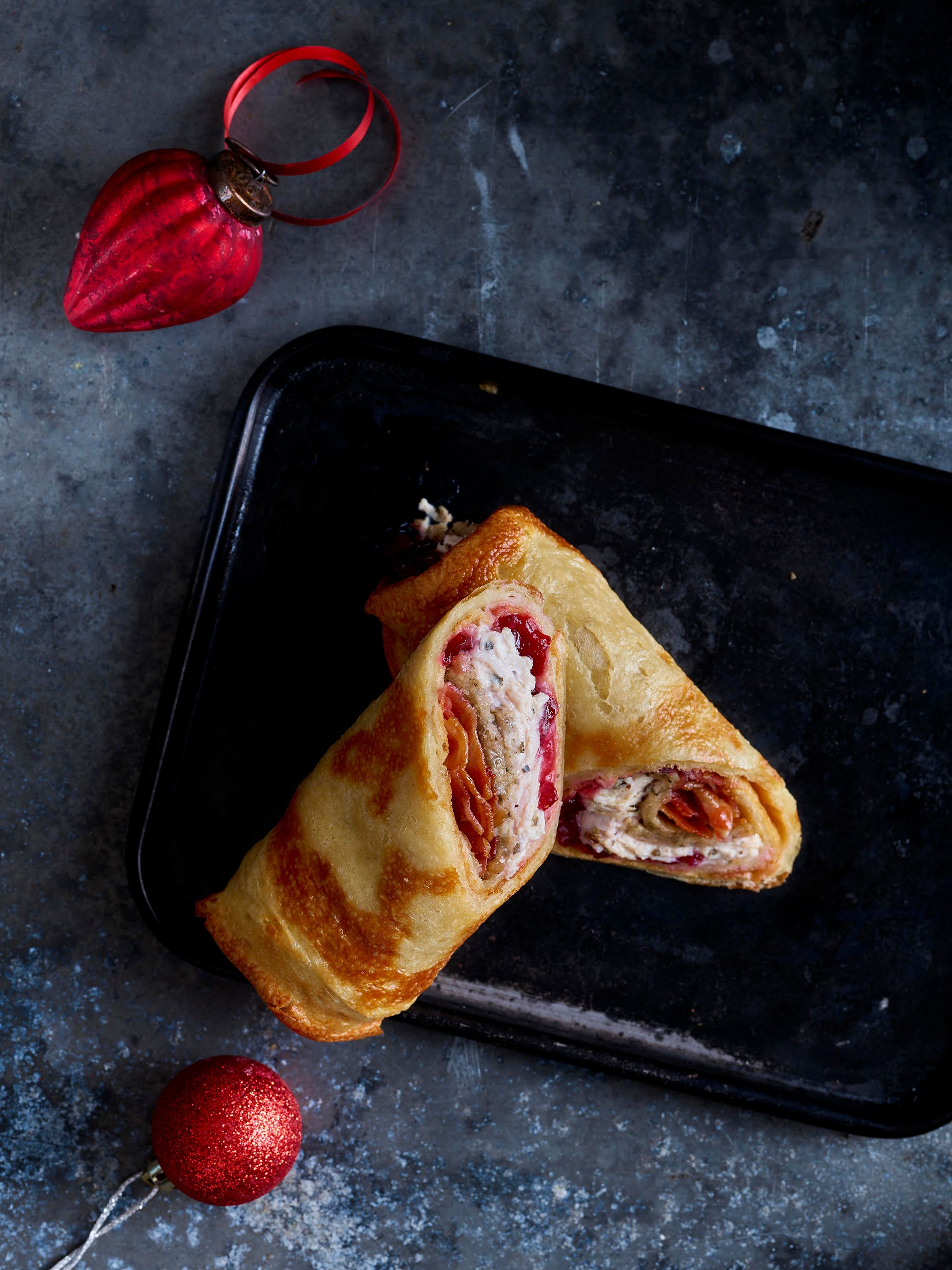 Yorkshire Pudding Wraps Stuffed With Christmas Dinner Are Coming To A Lunch Break Near