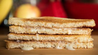 NEW YORK, NY - OCTOBER 29: Condensed Milk Sandwich photographed in the New York City area on Oct. 29, 2018. (Photo by Damon Dahlen/HuffPost) *** Local Caption ***