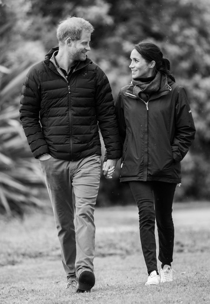 The Duke and Duchess of Sussex visit Abel Tasman National Park, which sits at the north-Eastern tip of the South Island,