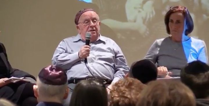 Judah Samet shares his story of survival at the Holocaust Center of Pittsburgh in February 2018. Samet narrowly avoided Saturday's attack at Tree of Life synagogue when he showed up late.