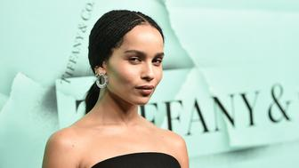 NEW YORK, NY - OCTOBER 09:  Zoe Kravitz attends the 2018 Tiffany & Co. Blue Book Gala on October 9, 2018 in New York City.  (Photo by Steven Ferdman/WireImage,)